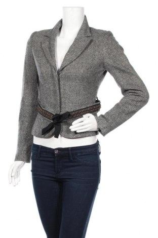 Дамско сако In Wear, Размер XS, Цвят Жълт, 60% вълна, 23% полиамид, 15% акрил, 2% еластан, Цена 32,55лв.