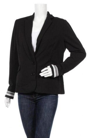 Дамско сако Jean Pascale, Размер XL, Цвят Черен, 95% полиестер, 5% еластан, Цена 33,60лв.