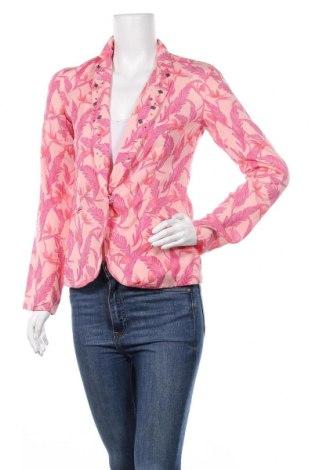 Дамско сако One Step, Размер XS, Цвят Розов, 52% вискоза, 48% памук, Цена 45,50лв.