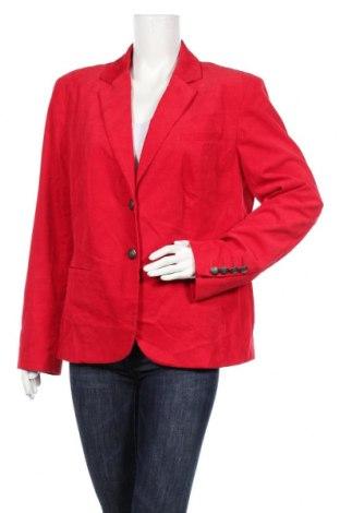 Дамско сако Peckott, Размер XL, Цвят Червен, 98% памук, 2% еластан, Цена 29,40лв.