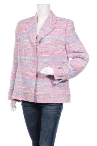 Дамско сако Prestige, Размер XL, Цвят Многоцветен, 37% полиестер, 35% памук, 19% полиамид, 9% вискоза, Цена 29,40лв.