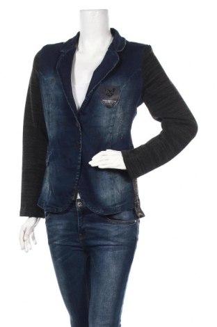 Дамско сако Raw Denim, Размер L, Цвят Син, 97% памук, 3% еластан, Цена 39,90лв.