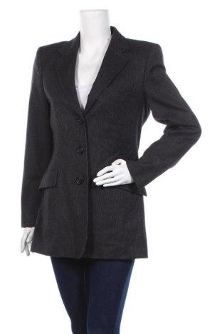 Дамско сако Sportmax, Размер M, Цвят Сив, 93% вълна, 4% полиамид, 2% памук, 1% еластан, Цена 90,30лв.