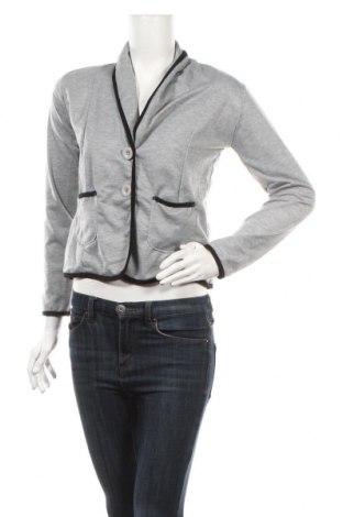 Γυναικείο σακάκι TINA, Μέγεθος XS, Χρώμα Γκρί, 65% πολυεστέρας, 35% βαμβάκι, Τιμή 8,95€