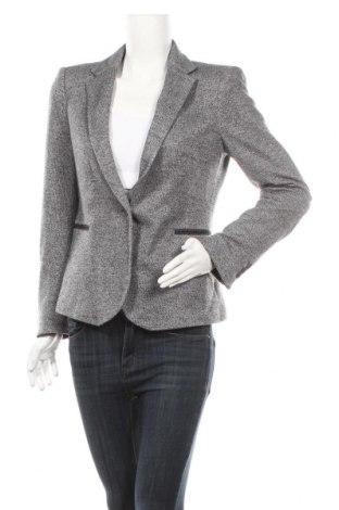 Дамско сако Zara, Размер L, Цвят Сив, 60% памук, 40% полиестер, Цена 44,10лв.