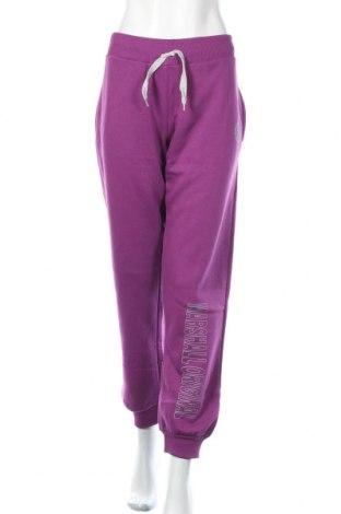 Дамско спортно долнище Marshall, Размер XXL, Цвят Розов, 65% памук, 35% полиестер, Цена 25,20лв.