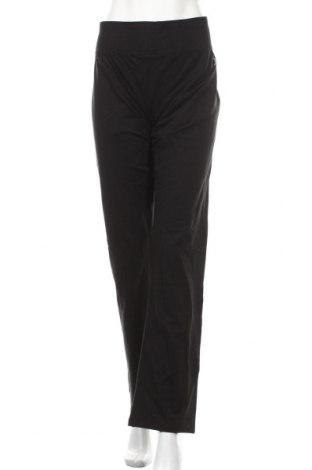 Дамско спортно долнище Spalding, Размер XL, Цвят Черен, 95% памук, 5% еластан, Цена 33,60лв.