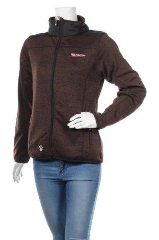 Дамско спортно горнище Anapurna, Размер M, Цвят Кафяв, 100% полиестер, Цена 44,80лв.
