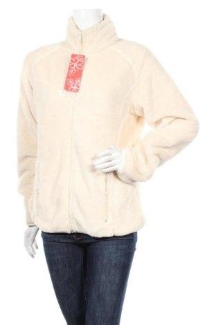Дамско спортно горнище Nirvana, Размер XL, Цвят Екрю, Полиестер, Цена 37,80лв.