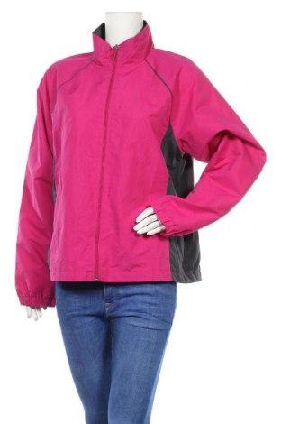Дамско спортно яке Danskin, Размер XL, Цвят Розов, Полиестер, Цена 9,00лв.