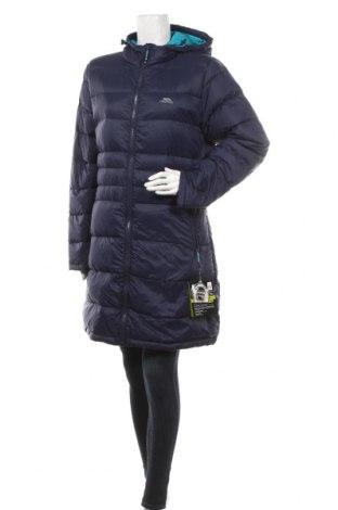 Дамско спортно яке Trespass, Размер XL, Цвят Син, Пух и пера, полиамид, Цена 194,35лв.