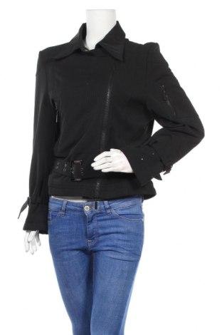 Дамско яке, Размер M, Цвят Черен, 96% полиестер, 4% еластан, Цена 14,95лв.