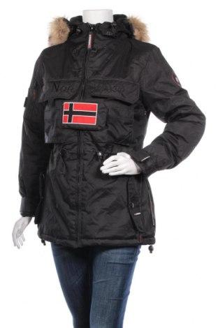 Дамско яке Geographical Norway, Размер M, Цвят Черен, Полиестер, акрил, Цена 100,17лв.