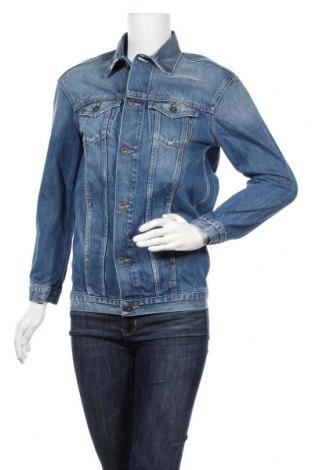 Γυναικείο μπουφάν Pepe Jeans, Μέγεθος XS, Χρώμα Μπλέ, Βαμβάκι, Τιμή 32,29€