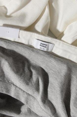 Дънки за бременни Mamalicious, Размер XL, Цвят Бял, 79% памук, 17% полиамид, 4% еластан, Цена 51,75лв.