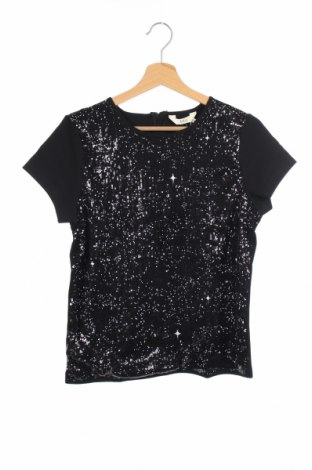 Παιδική μπλούζα Eleven Paris Little, Μέγεθος 13-14y/ 164-168 εκ., Χρώμα Μαύρο, 67% βισκόζη, 27% πολυαμίδη, 4% ελαστάνη, Τιμή 26,47€