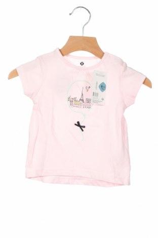 Παιδική μπλούζα Grain De Ble, Μέγεθος 3-6m/ 62-68 εκ., Χρώμα Ρόζ , Βαμβάκι, Τιμή 6,43€