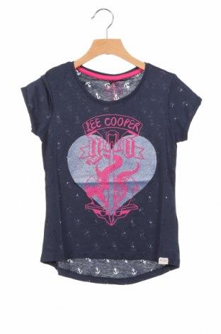 Детска блуза Lee Cooper, Размер 6-7y/ 122-128 см, Цвят Син, 60% памук, 40% полиестер, Цена 14,00лв.