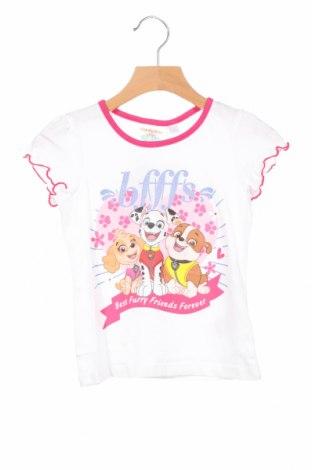 Παιδική μπλούζα Nickelodeon, Μέγεθος 3-4y/ 104-110 εκ., Χρώμα Λευκό, Βαμβάκι, Τιμή 9,72€