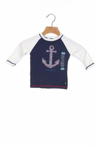 Παιδική μπλούζα Obaibi, Μέγεθος 3-6m/ 62-68 εκ., Χρώμα Μπλέ, 85% πολυαμίδη, 15% ελαστάνη, Τιμή 10,76€