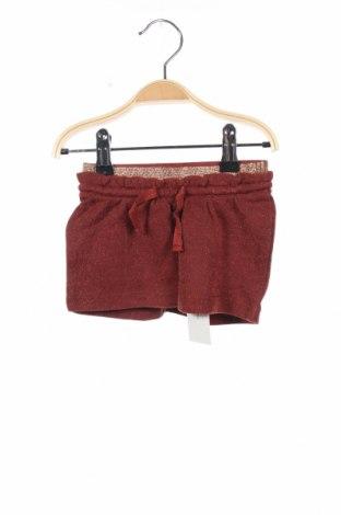Παιδική φούστα Noppies, Μέγεθος 18-24m/ 86-98 εκ., Χρώμα Καφέ, 80% βαμβάκι, 12% πολυεστέρας, 8% μεταλλικά νήματα, Τιμή 7,64€