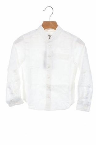 Παιδικό πουκάμισο Cyrillus, Μέγεθος 3-4y/ 104-110 εκ., Χρώμα Εκρού, 55% λινό, 45% βαμβάκι, Τιμή 10,97€