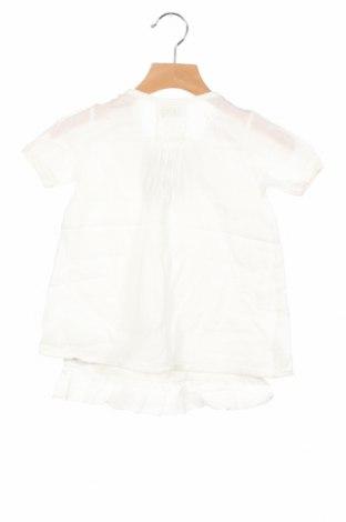 Παιδικό φόρεμα La Compagnie des Petits, Μέγεθος 12-18m/ 80-86 εκ., Χρώμα Λευκό, Βαμβάκι, Τιμή 11,47€