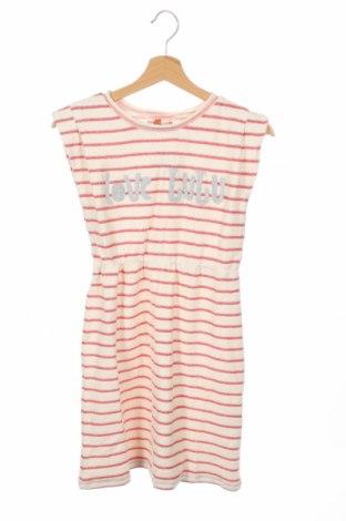 Παιδικό φόρεμα Lulu Castagnette, Μέγεθος 11-12y/ 152-158 εκ., Χρώμα  Μπέζ, 100% βαμβάκι, Τιμή 9,28€