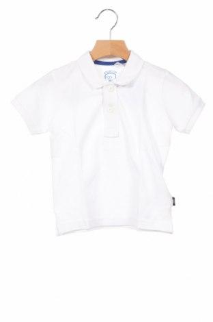 Детска тениска Chicco, Размер 18-24m/ 86-98 см, Цвят Бял, Памук, Цена 12,00лв.