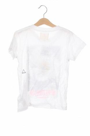 Детска тениска Eleven Paris, Размер 7-8y/ 128-134 см, Цвят Бял, 50% памук, 50% модал, Цена 29,25лв.