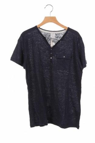 Παιδικό μπλουζάκι Karl Marc John, Μέγεθος 14-15y/ 168-170 εκ., Χρώμα Μπλέ, Λινό, Τιμή 10,64€