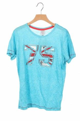 Παιδικό μπλουζάκι Karl Marc John, Μέγεθος 11-12y/ 152-158 εκ., Χρώμα Μπλέ, Λινό, Τιμή 11,34€