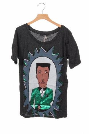 Παιδικό μπλουζάκι Kookai, Μέγεθος 9-10y/ 140-146 εκ., Χρώμα Γκρί, 50% βαμβάκι, 50% μοντάλ, Τιμή 12,06€