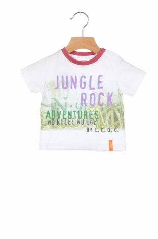 Παιδικό μπλουζάκι La Compagnie des Petits, Μέγεθος 3-6m/ 62-68 εκ., Χρώμα Λευκό, Βαμβάκι, Τιμή 6,27€