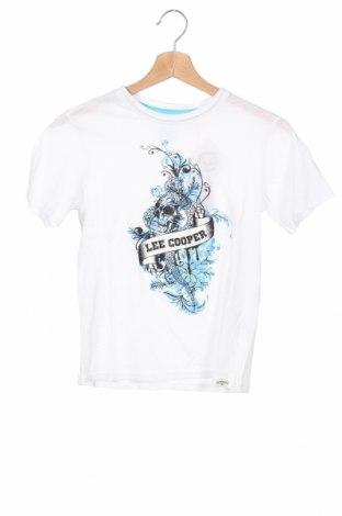 Детска тениска Lee Cooper, Размер 9-10y/ 140-146 см, Цвят Бял, Памук, Цена 12,16лв.