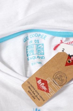 Детска тениска Lee Cooper, Размер 9-10y/ 140-146 см, Цвят Бял, Памук, Цена 24,00лв.