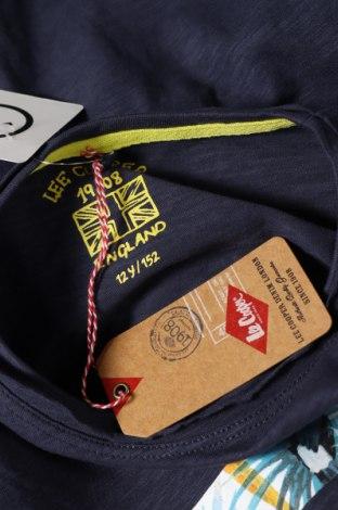 Детска тениска Lee Cooper, Размер 11-12y/ 152-158 см, Цвят Син, Памук, Цена 24,00лв.