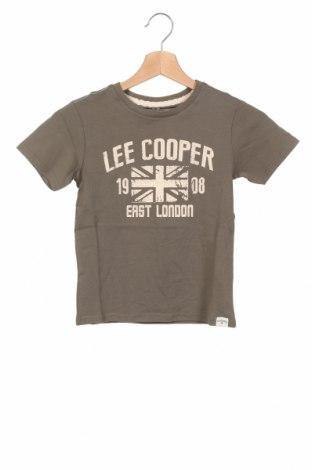 Детска тениска Lee Cooper, Размер 5-6y/ 116-122 см, Цвят Зелен, Памук, Цена 13,76лв.