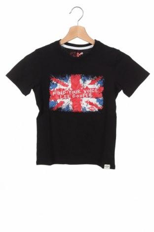 Детска тениска Lee Cooper, Размер 7-8y/ 128-134 см, Цвят Черен, Памук, Цена 13,76лв.