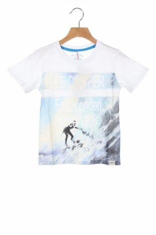 Детска тениска Lee Cooper, Размер 4-5y/ 110-116 см, Цвят Бял, Памук, Цена 13,76лв.