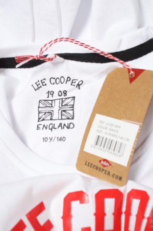 Детска тениска Lee Cooper, Размер 8-9y/ 134-140 см, Цвят Бял, Памук, Цена 24,00лв.