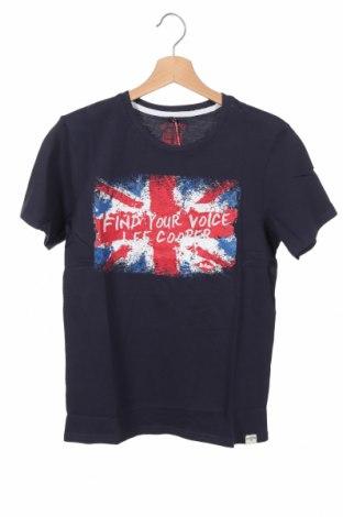 Παιδικό μπλουζάκι Lee Cooper, Μέγεθος 13-14y/ 164-168 εκ., Χρώμα Μπλέ, Βαμβάκι, Τιμή 7,09€