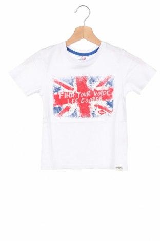 Детска тениска Lee Cooper, Размер 5-6y/ 116-122 см, Цвят Бял, Памук, Цена 12,16лв.