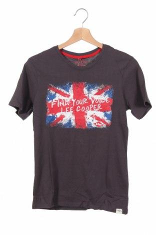 Παιδικό μπλουζάκι Lee Cooper, Μέγεθος 13-14y/ 164-168 εκ., Χρώμα Γκρί, Βαμβάκι, Τιμή 7,09€