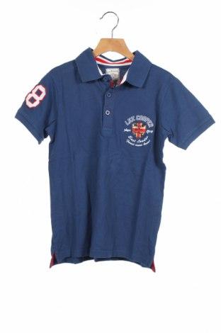 Детска тениска Lee Cooper, Размер 10-11y/ 146-152 см, Цвят Син, Памук, Цена 16,00лв.