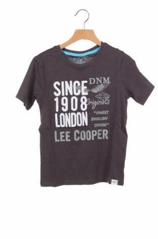 Παιδικό μπλουζάκι Lee Cooper, Μέγεθος 6-7y/ 122-128 εκ., Χρώμα Γκρί, Βαμβάκι, Τιμή 6,20€