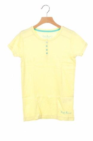 Παιδικό μπλουζάκι Little Marcel, Μέγεθος 10-11y/ 146-152 εκ., Χρώμα Κίτρινο, Βαμβάκι, Τιμή 7,09€