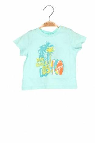 Παιδικό μπλουζάκι Mini Marcel, Μέγεθος 9-12m/ 74-80 εκ., Χρώμα Μπλέ, Βαμβάκι, Τιμή 6,20€