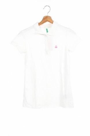 Παιδικό μπλουζάκι United Colors Of Benetton, Μέγεθος 12-13y/ 158-164 εκ., Χρώμα Λευκό, 97% βαμβάκι, 3% ελαστάνη, Τιμή 8,25€