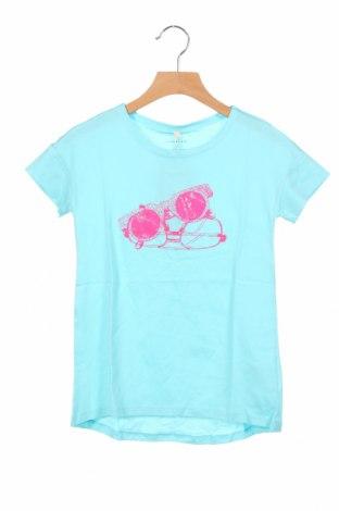 Παιδικό μπλουζάκι United Colors Of Benetton, Μέγεθος 6-7y/ 122-128 εκ., Χρώμα Μπλέ, Βαμβάκι, Τιμή 7,98€